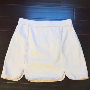 Forever 21 Pink Mini Denim Skirt Size Small